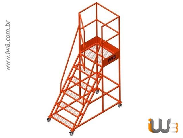 Escada Industrial Plataforma