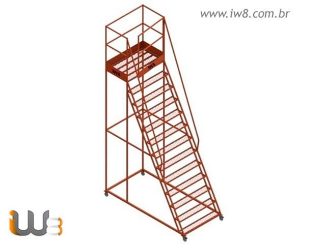 Escada Plataforma de Trabalho
